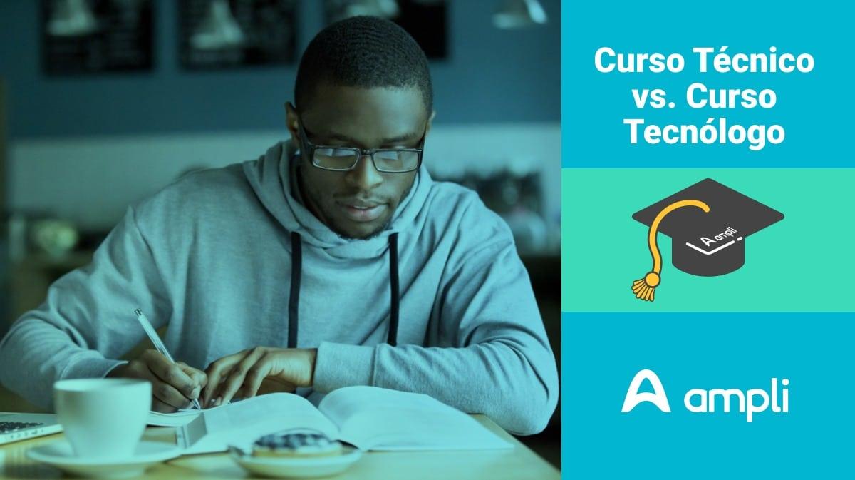 diferença entre técnico e tecnólogo
