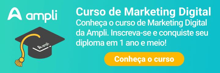 CTA curso de marketing digital da Ampli