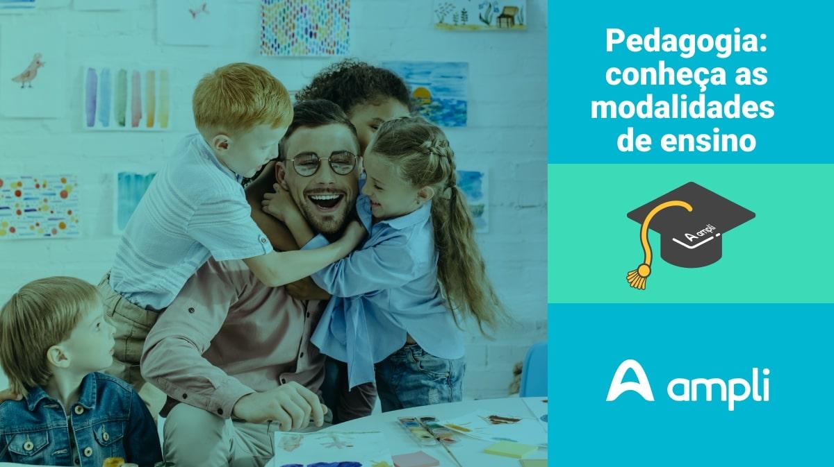 Modalidades de ensino da pedagogia