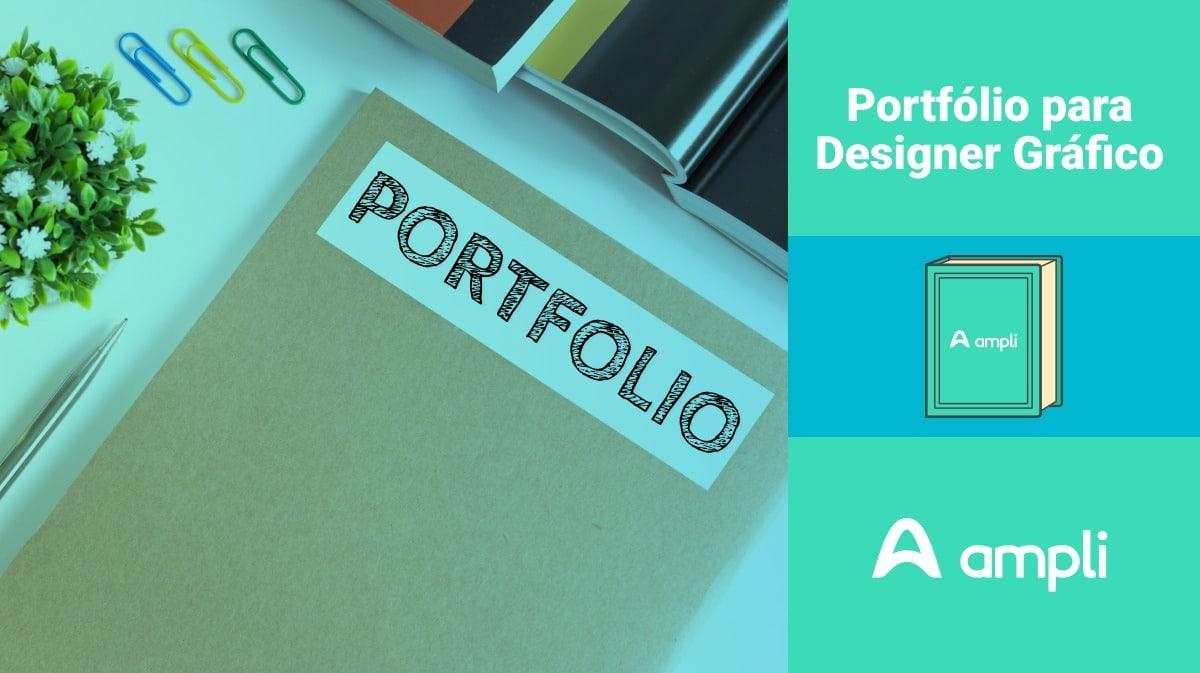 como criar um portfolio de design gráfico